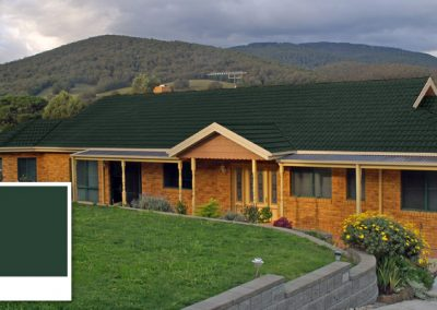 Roof Colour Guide – Caufield Green