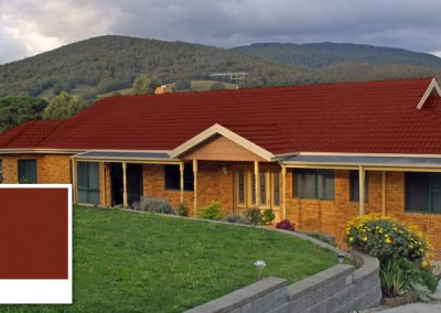 Roof Colour Guide – Tuscan Red